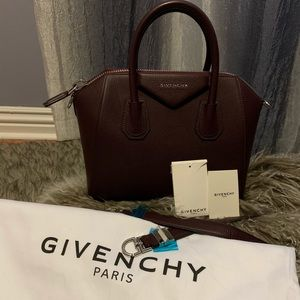Small Givenchy Antigona Leather Satchel
